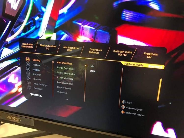 """CES 2019: Игровой монитор GIGABYTE Aorus с технологией FreeSync"""""""