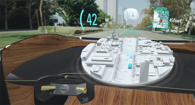 """CES 2019: Система Nissan I2V объединяет реальный и виртуальный миры"""""""