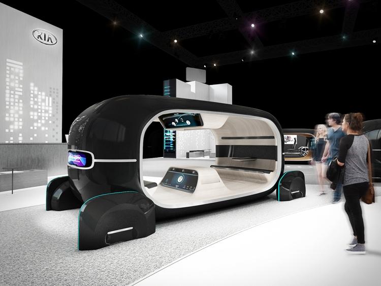 "CES 2019: KIA R.E.A.D., или Интерактивное пространство в салоне робомобиля"""