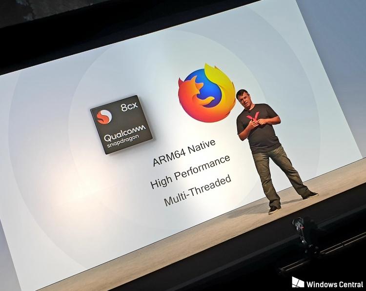 """Mozilla выпустила первую предварительную сборку Firefox для Windows 10 ARM"""""""