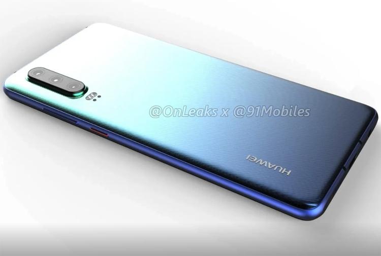 """Рендеры раскрыли дизайн мощного смартфона Huawei P30"""""""