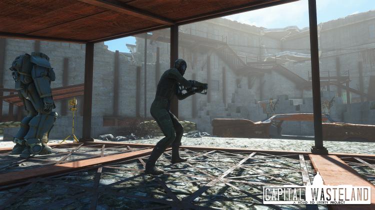 """Моддеры вернулись к созданию фанатского ремейка Fallout 3 на базе Fallout 4"""""""