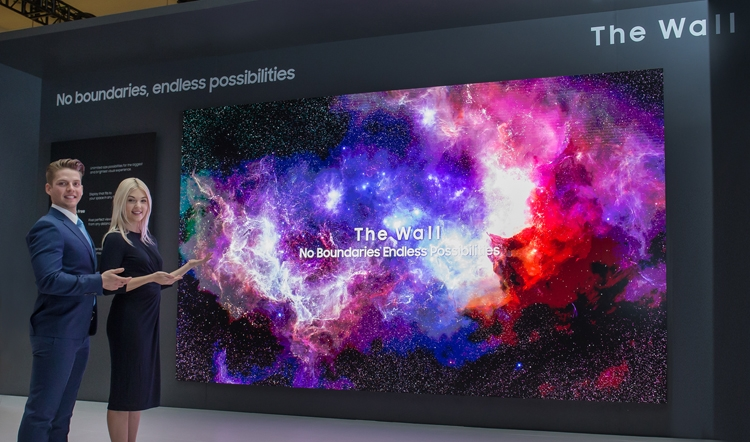 "CES 2019: дисплей Samsung The Wall размером 219 дюймов"""
