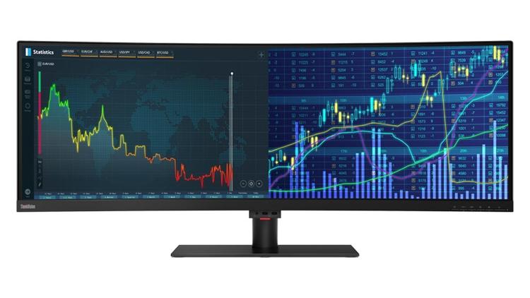 CES 2019: Мониторы Lenovo с диагональю 43,4 дюйма и разрешением DWUXGA