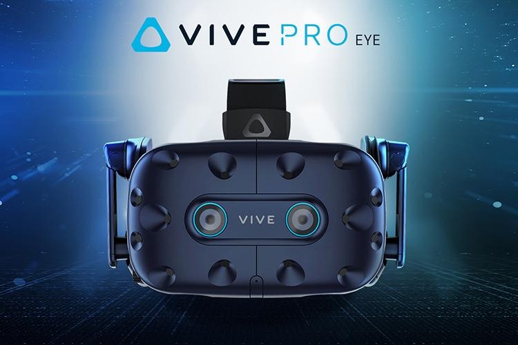 """CES 2019: VR-шлем HTC Vive Pro Eye отслеживает взгляд пользователя"""""""