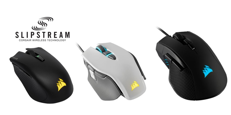 CES 2019: Мышь Corsair Harpoon RGB Wireless с технологией SlipStream""