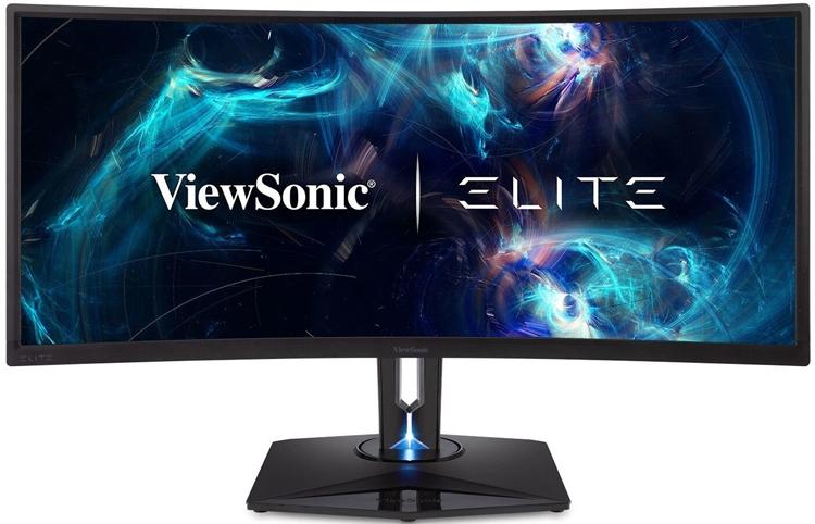 """CES 2019: ViewSonic XG350R-C — игровой монитор под новым брендом ELITE"""""""