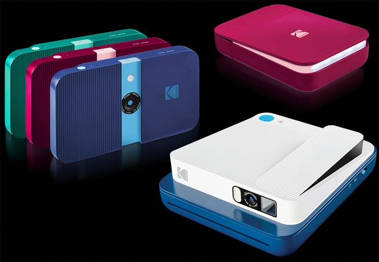 """CES 2019: Компактные фотокамеры Kodak с функцией мгновенной печати"""""""