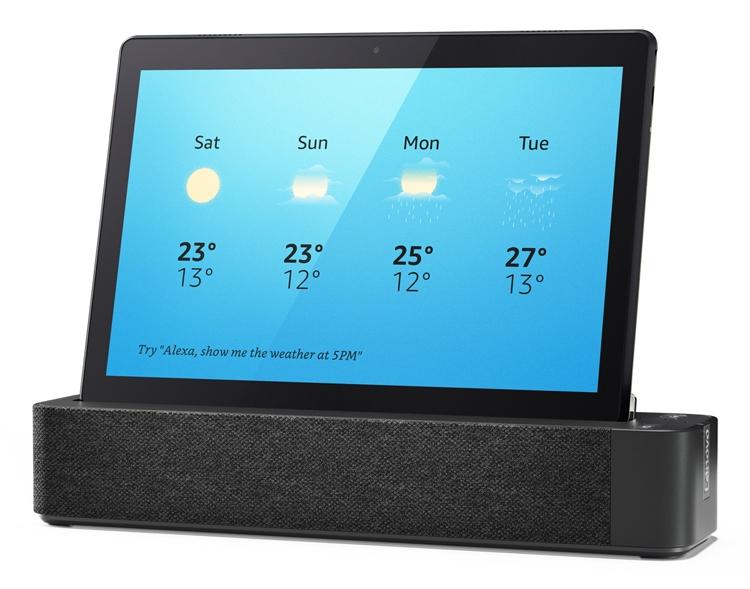 "CES 2019: Планшеты Lenovo Smart Tab с голосовым ассистентом Amazon Alexa"""