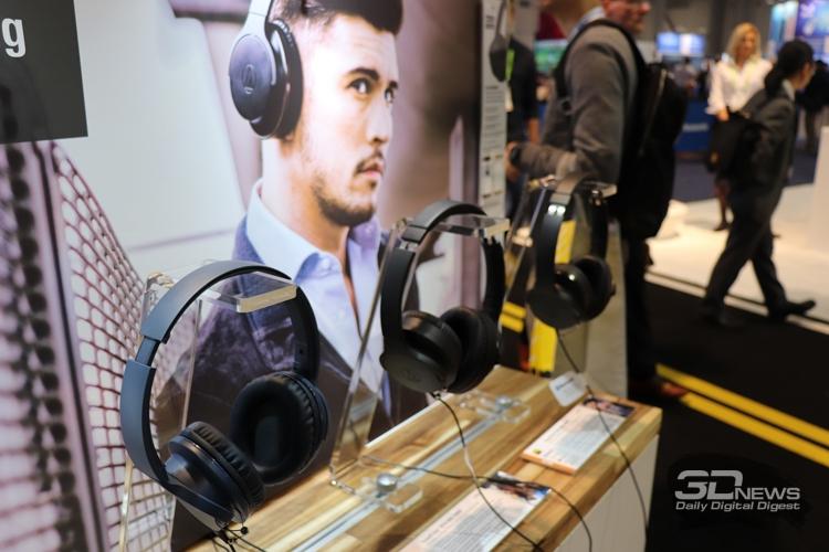 """CES 2019: Новейшие гарнитуры в экспозиции Audio-Technica"""""""