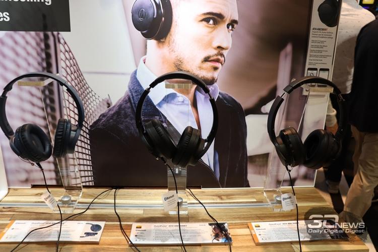 CES 2019: Новейшие гарнитуры в экспозиции Audio-Technica