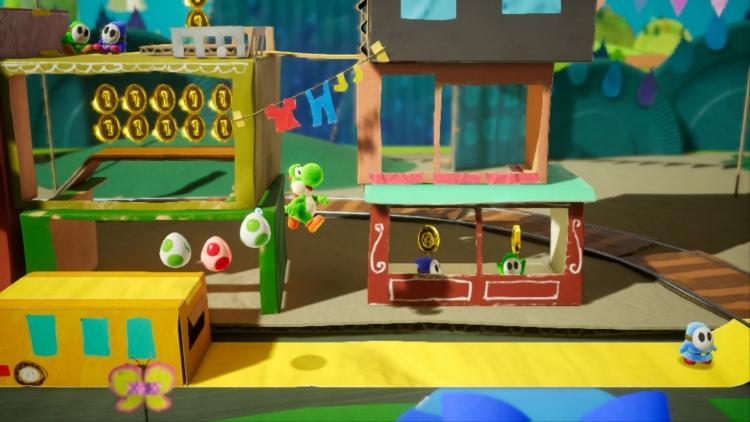 Видео: Yoshi's Crafted World для Nintendo Switch выйдет 29 марта