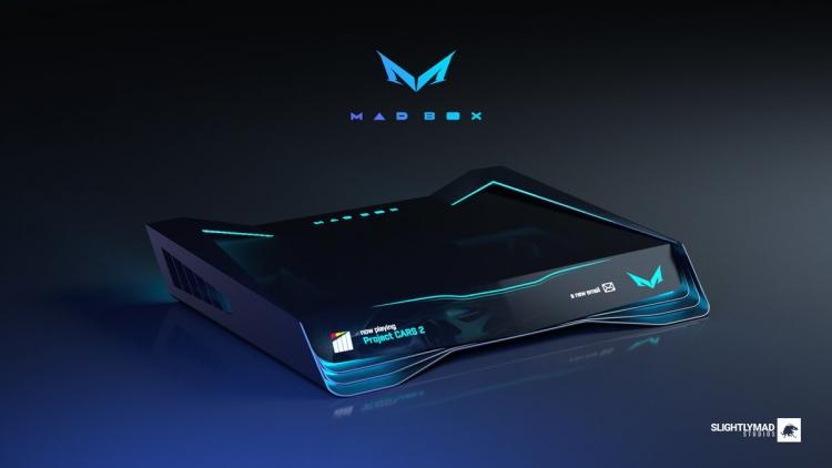 "Slightly Mad Studios показала впечатляющий концепт новой консоли Mad Box"""