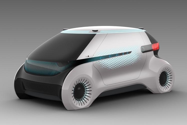 """CES 2019: Концепт-робомобиль Hyundai Mobis с системой световых коммуникаций"""""""