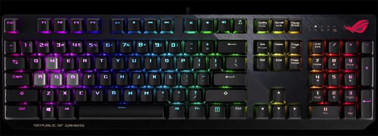 CES 2019: Клавиатура ASUS ROG Strix CTRL адресована поклонникам шутеров