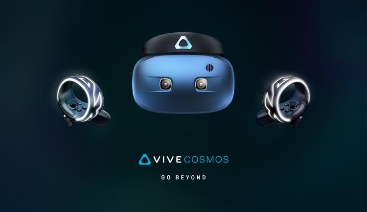 "CES 2019: HTC представила самодостаточный шлем Vive Cosmos"""