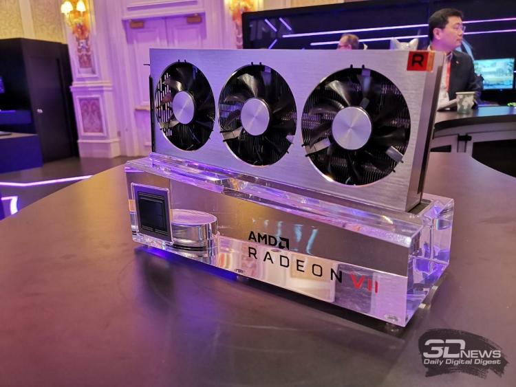 "Не ждали? Компания AMD представила флагманскую видеокарту Radeon VII"""