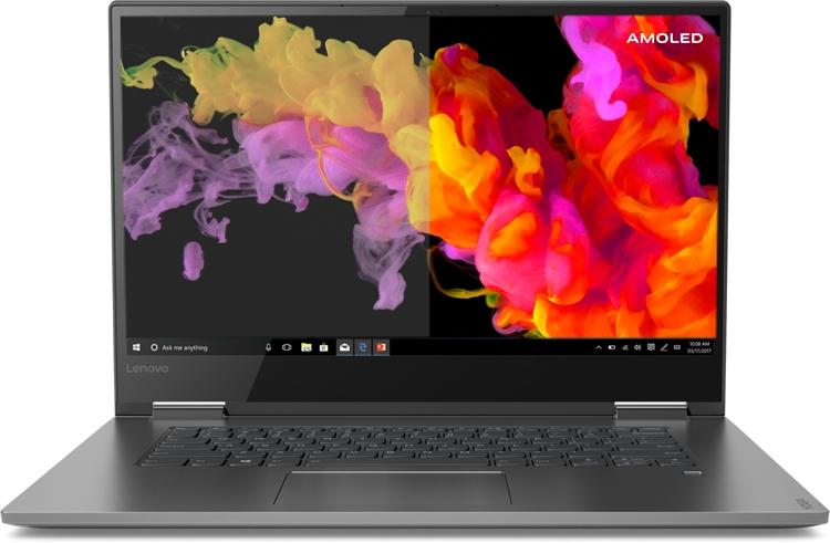 "CES 2019: Ноутбук Lenovo Yoga C730 получил дисплей AMOLED 4К"""