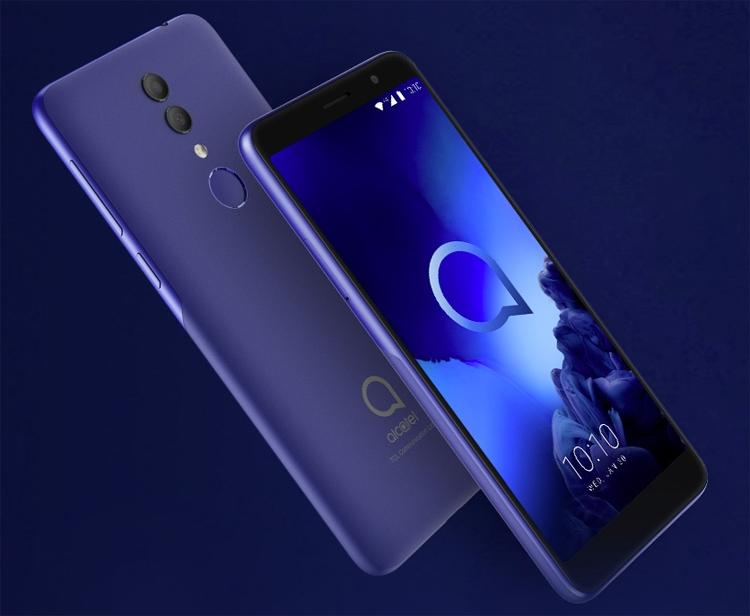 CES 2019: Смартфон Alcatel 1X (2019) за $120 оснащён двойной камерой