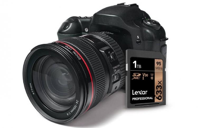 CES 2019: Lexar выпустила SD-карту ёмкостью 1 Тбайт — впервые в мире