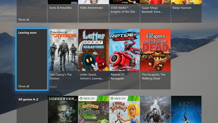 The Division покинет Xbox Game Pass к концу месяца, а Ultimate Marvel VS. Capcom 3 прошла вне очереди