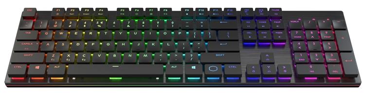 """CES 2019: Трио беспроводных механических клавиатур Cooler Master"""""""