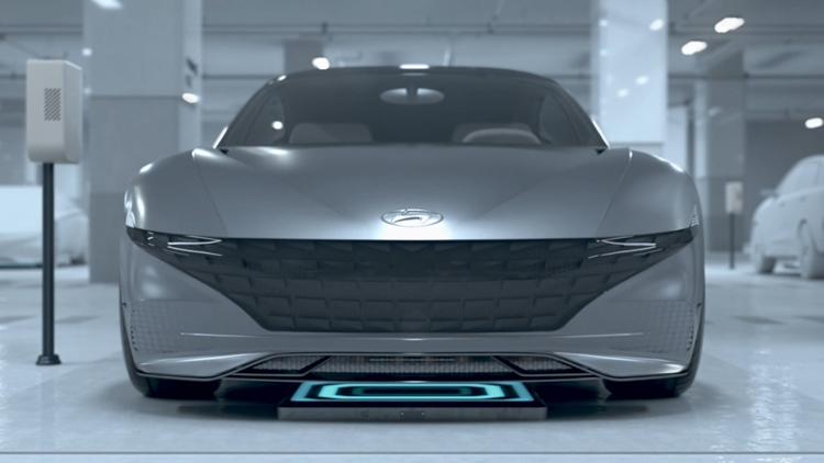 """CES 2019: Система Hyundai для беспроводной зарядки электромобилей будущего"""""""