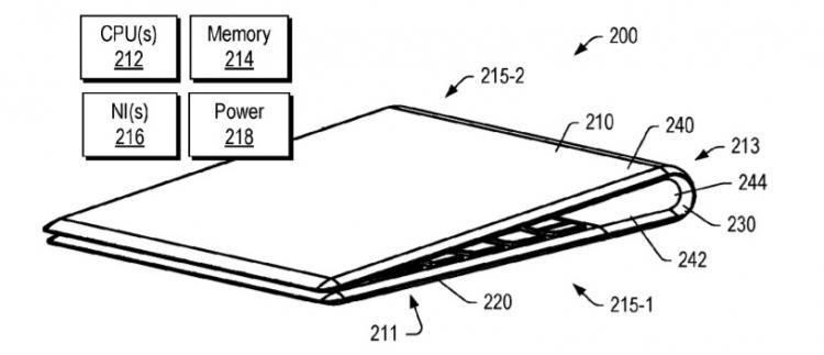 """Новый патент указывает на подготовку Lenovo гибкого ноутбука на Windows 10"""""""