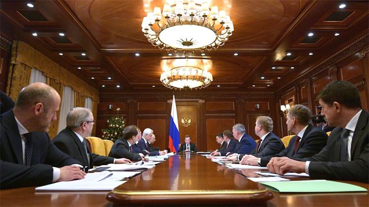 Фото пресс-службы правительства РФ