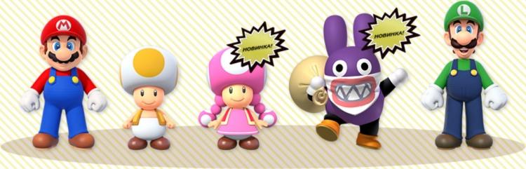 """Видео: New Super Mario Bros. U добрался до Switch и позволяет играть за Синего Тоада"""""""