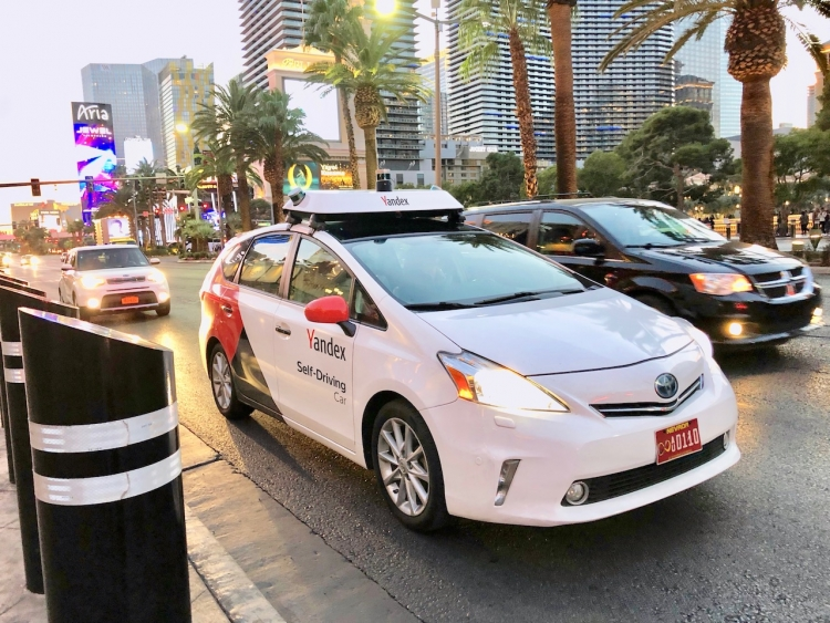 "CES 2019: Робомобиль «Яндекс.Такси» покоряет дороги Лас-Вегаса"""