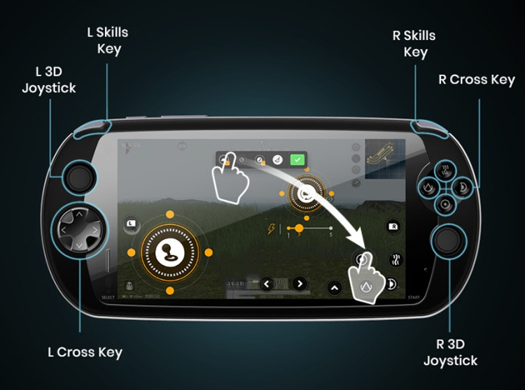 """MOQI: гибрид смартфона и портативной игровой консоли"""""""