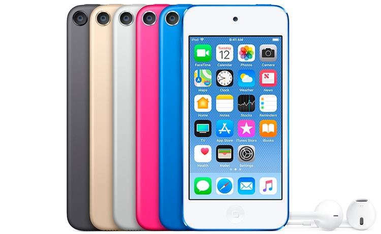 Последний раз Apple обновляла iPod Touch в 2015 году