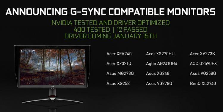 """NVIDIA выпустила драйвер 417.71 WHQL с поддержкой FreeSync"""""""