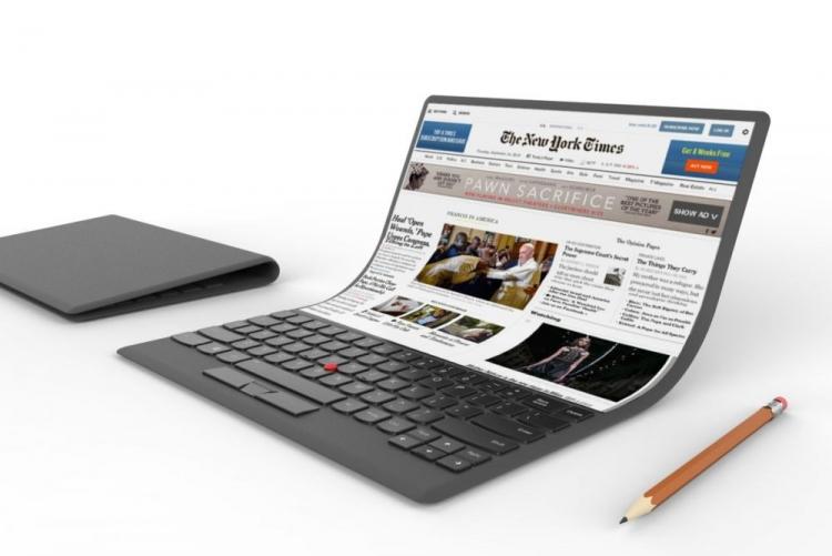 """Обнаружена первая сборкаWindows 10 для планшетов с гибким экраном"""""""