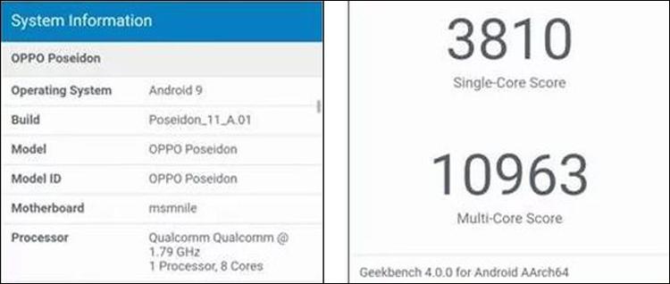 "Замечен смартфон топового уровня OPPO Poseidon с чипом Snapdragon 855"""