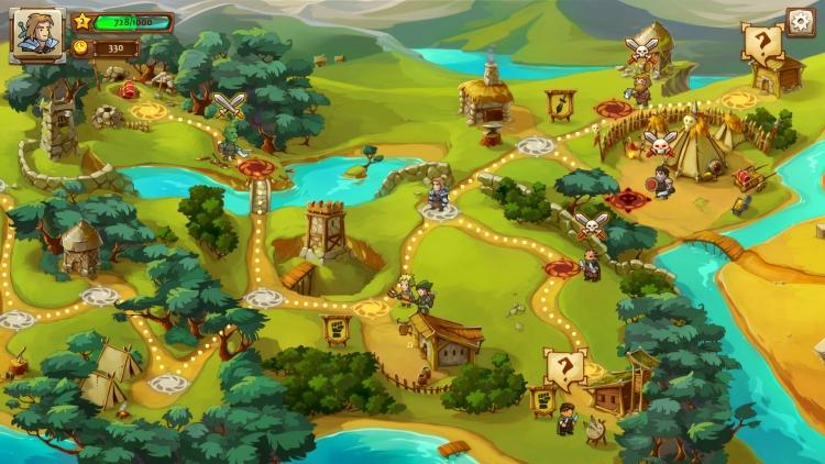 Пошаговую стратегию Braveland можно забрать бесплатно в Steam