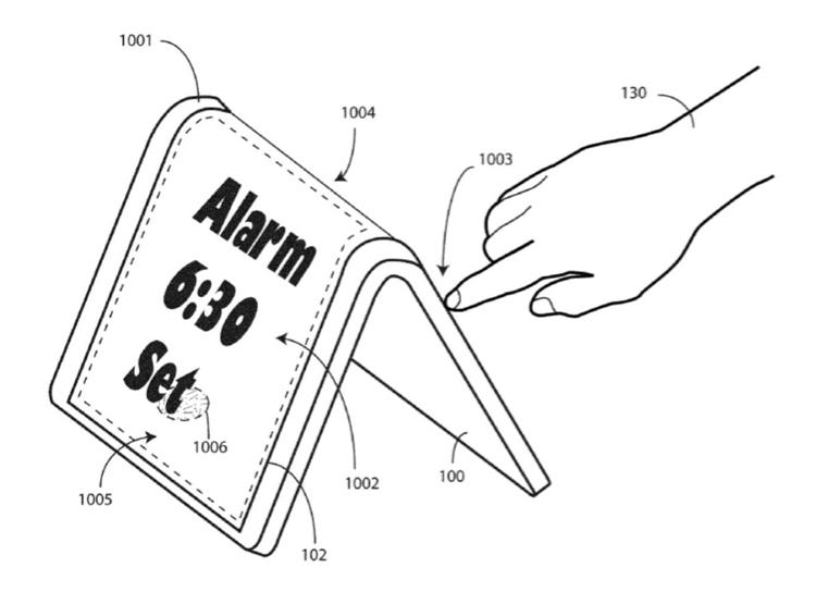 """В Motorola предложен оригинальный способ взаимодействия с гибкими смартфонами"""""""