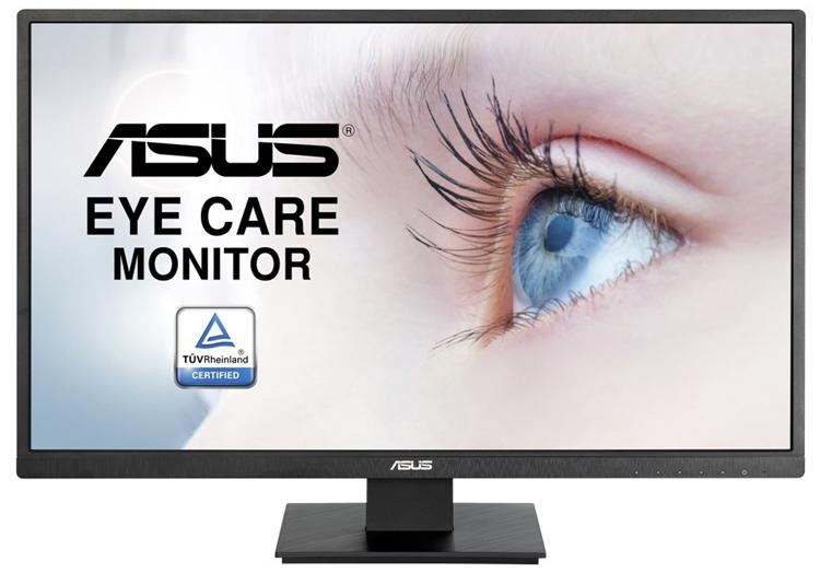 """Монитор ASUS VA279HA Eye Care подходит для работы и игр"""""""