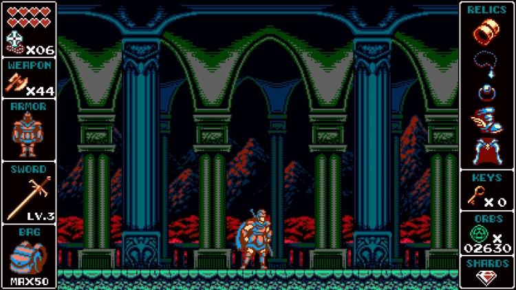 Вдохновлённый Castlevania 8-битный экшен Odallus: The Dark Call выйдет на консолях в ближайшие месяцы