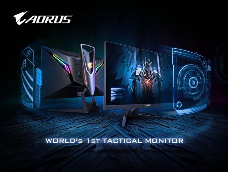 """AORUS AD27QD — первый в мире тактический игровой монитор от GIGABYTE"""""""