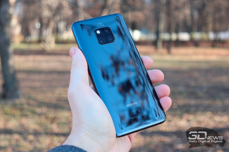 "Huawei Mate 20 Pro получил наивысшую оценку DxOMark, но P20 Pro не обошёл"""