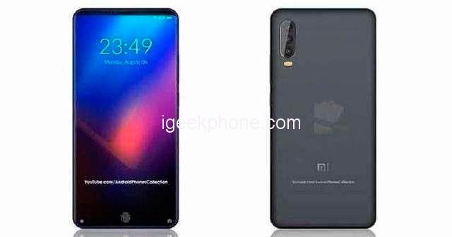 На данном рендере Xiaomi Mi Max 4 изображён с тройной тыльной камерой и сканером отпечатков пальцев в дисплее. Но последнего всё же не будет.