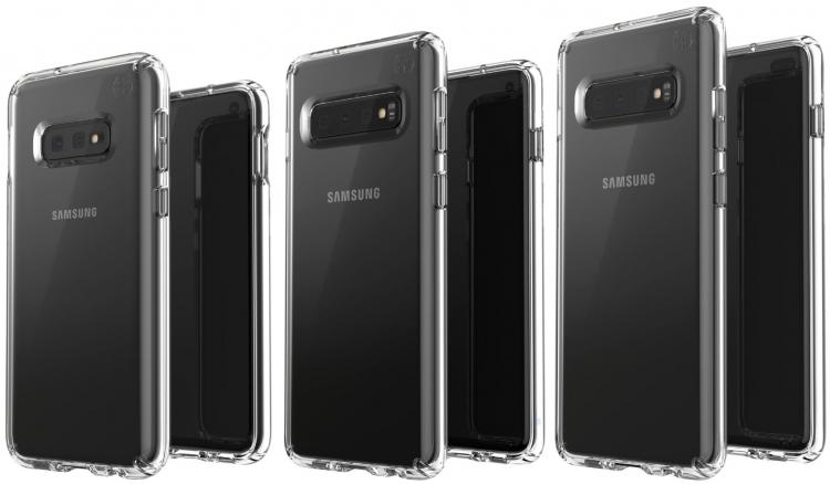 "Фото дня: все три модели Samsung Galaxy S10 на качественной визуализации"""