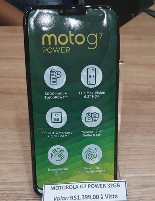 Живые фото Moto G7 Power подтвердили спецификации ицену— Слухи
