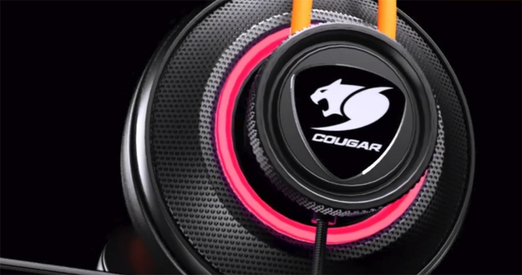 """Cougar Immersa Pro Ti: гарнитура с RGB-подсветкой и виртуальным звуком 7.1"""""""