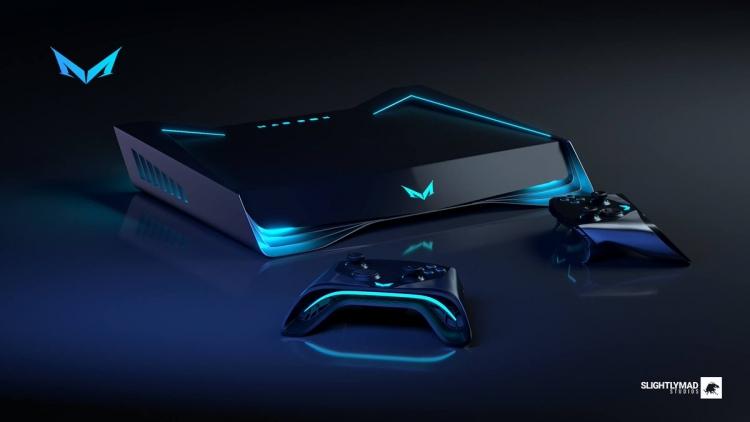 "Slightly Mad Studios представила концепт контроллера игровой консоли Mad Box"""