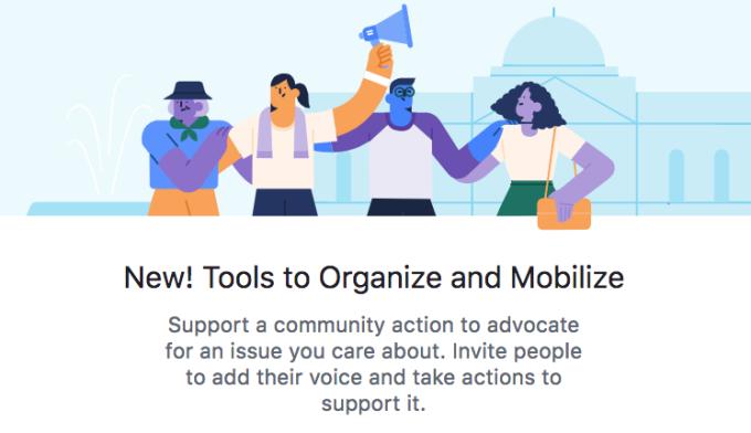 """Facebook всё больше интересуется политикой — теперь можно подавать петиции"""""""
