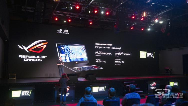 """ASUS представила в России новинки семейства Republic of Gamers на базе NVIDIA GeForce RTX"""""""
