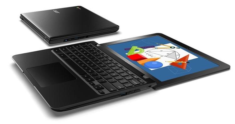 Ноутбук-трансформер Acer Chromebook Spin 512 оснащён 12
